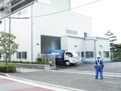 江環保エコセンターに搬入します。